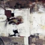 Palette - 2000 - Huile sur toile préparée au médium à base de sable - 130 x 195 cm