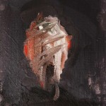 Bardamu - 2002 - Huile sur toile préparée au médium à base de sable - 24 x 19 cm