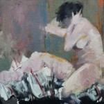 Nu - 1978 - Huile sur toile - 50 x 61 cm
