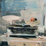 Balance - 1981 - Huile sur toile - 60 x 60 cm