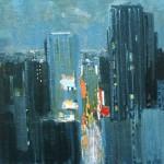 New York - 1982 - Huile sur toile - 100 x 100 cm