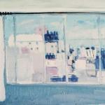 Fenêtre à l'atelier - 1971 - Huile sur toile - 54 x 65 cm