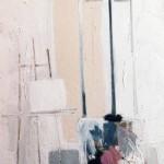 Le Chevalet - 1971 - Huile sur toile - 120 x 60 cm