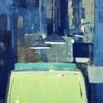 Billard - 1972 - Huile sur toile - 146 x 114 cm