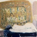 Nu blanc - 1971 - Huile sur toile - 50 x 50 cm