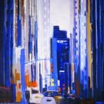 New York - 1985 - Huile sur toile - 92 x 73 cm