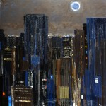 New York - 1984 - Huile sur toile - 180 x 180 cm