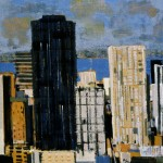 New York - 1984 - Huile sur toile - 80 x 80 cm