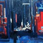 New York - 1984 - Huile sur toile - 65 x 81 cm