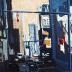 New York - 1984 - Huile sur toile - 73 x 92 cm
