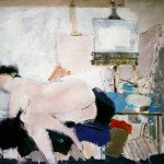 Nu à l'atelier - 1985 - Gouache