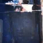 L'étagère - 1988 - Huile sur toile - 162 x 130