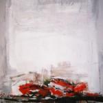Les crabes - 1988 - Huile sur toile - 81 x 65 cm