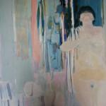 Nu à la toilette, 1970, huile sur toile, 130 x 162 cm